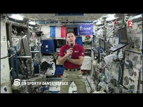 Thomas Pesquet, un sportif dans l'espace