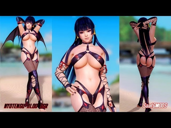 Dead or Alive Xtreme Mods for DOA5LR Gameplay Part 2