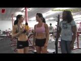 ifbb pro fitness trish warren and ifbb pro figure magda wilk training