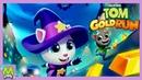 Говорящий Том Бег за Золотом.Анджела Ведьмочка-Новый Герой.Обновление Игры на Хэллоуин