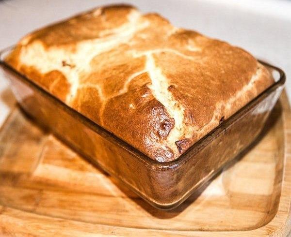 Пирог с мясом Лучшего теста для наливных пирогов