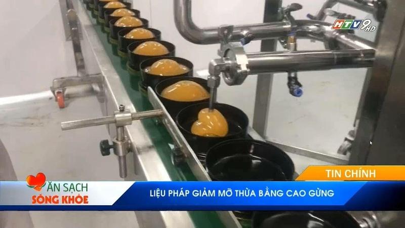 Cao Gừng - Liệu Pháp Giảm Mỡ Thừa - Ăn Sạch Sống Khỏe HTV9