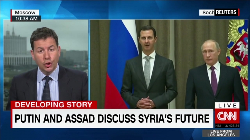 Putin to speak with Trump after meeting with Syrian President Assad