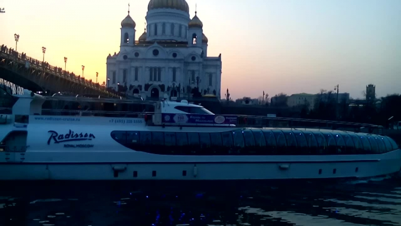 наб Берсеневская и Храм Христа Спасителя
