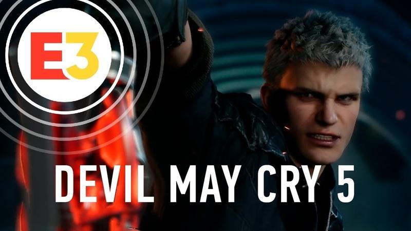 Е3 2018 Анонс - Devil May Cry 5.