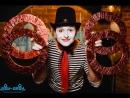 Цирковой номер - Эквиллибр на 16 бокалах