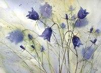"""Схемы вышивки  """"цветы луг поле природа лето флора колокольчик колокольчики """" ."""