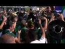 Парад мексиканских болельщиков