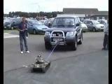 Russian Tank Power Toy