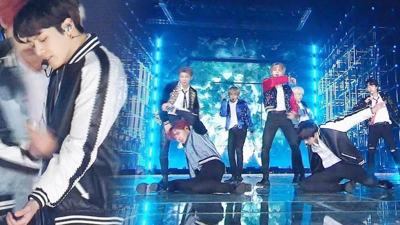 방탄소년단 우월한 유전자 자랑하는 강력한 퍼포먼스 'DNA' @2017 SBS 가요대전 2부 20171225