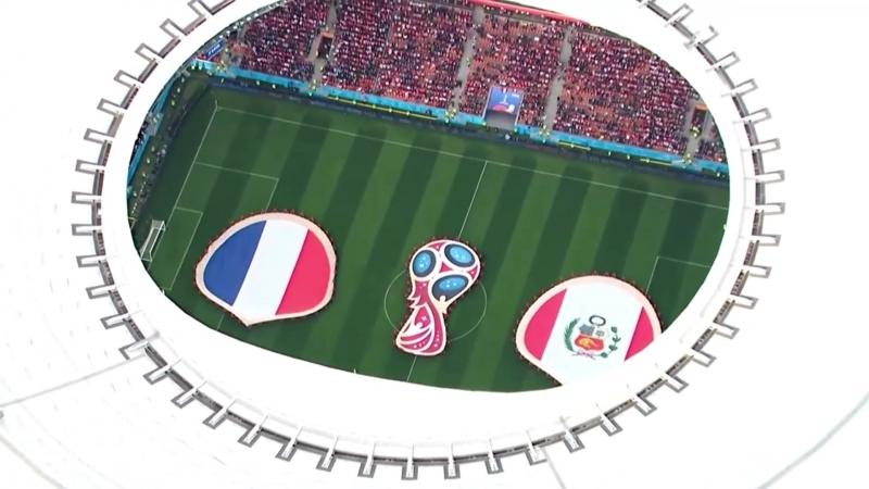 Свердловский вестник на матче Франция - Перу