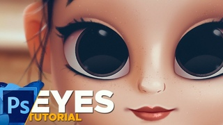 PAINTING EYES IN PHOTOSHOP - TUTORIAL!