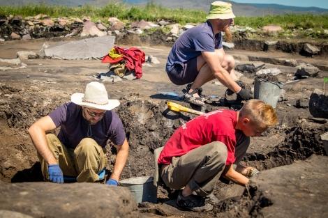 На Туннуге обнаружили очень древний топор