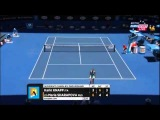 Maria Sharapova Vs Karin Knapp Australian Open 2014 Round 2 Part 2