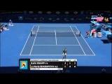 Maria Sharapova Vs Karin Knapp Australian Open 2014 Round 2 Part 2