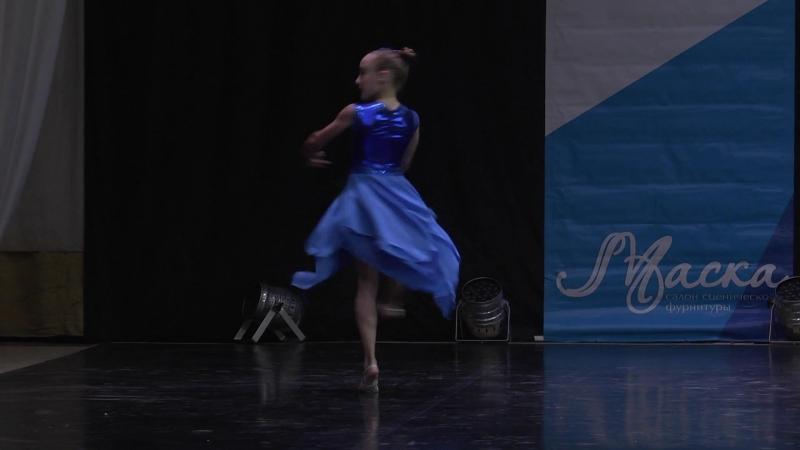 Выступление ученицы Виктории Воеводиной на Dance Mix 2018 3 место