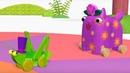Деревяшки - сборник серий 6 - развивающие мультфильмы для самых маленьких 0-4