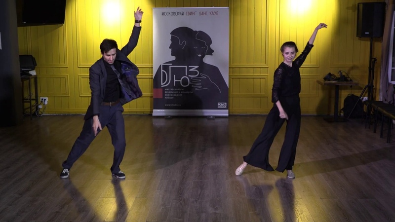 BBW18 Cabaret Stanislav Maximenko and Asya Korneeva — Mystic Blues