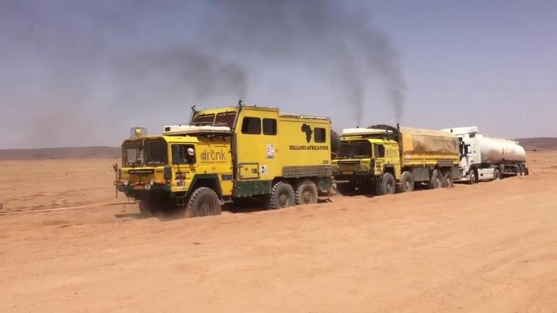 MAN 4x4 6x6 8x8 during Morocco Desert Challenge 2018