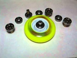 чистые подшипники роликов / clean bearings