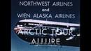 NORTHWEST AIRLINES 1950s ALASKA ESKIMOS AIR ADVENTURE TRAVELOGUE 45274