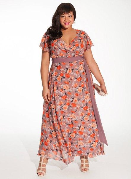Платье для полных женщин купить