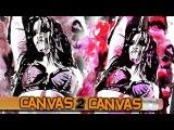 Paige steps onto the artist's canvas - Canvas 2 Canvas