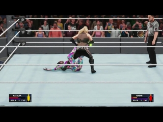 WWE SummerSlam 2017 Natalya Vs Naomi WWE2K18 SummerSlam WWE