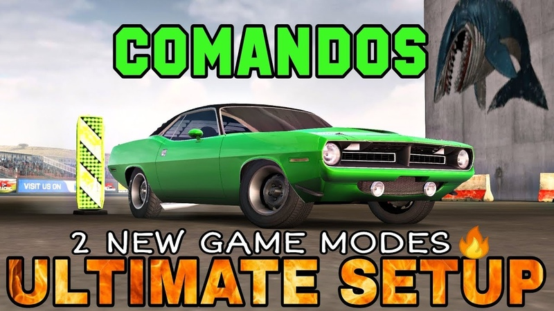 Comandos Ultimate Setup Test Drive! (Plymouth Hemi Cuda) | 2 new game modes | CarX Drift Racing