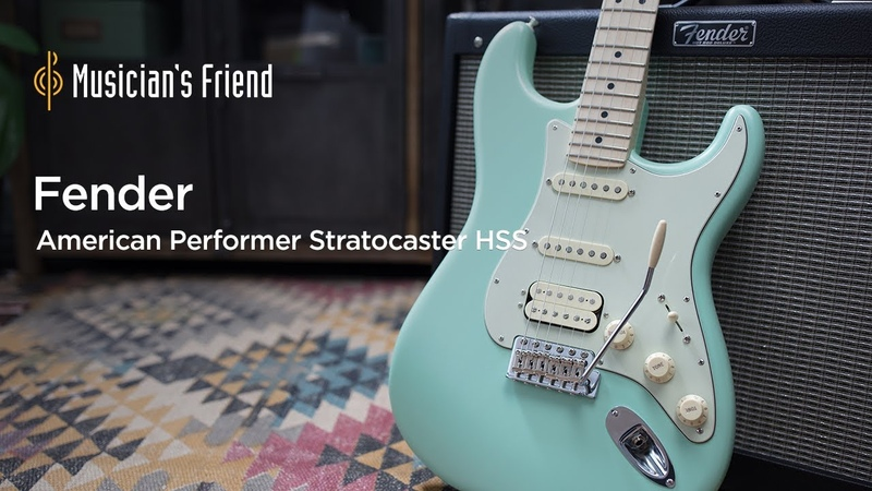 Fender American Performer Stratocaster HSS - Demo, Features and Specifications