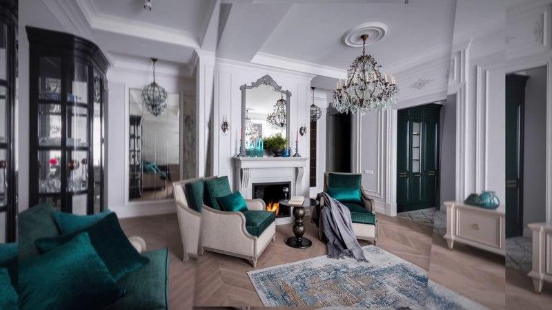 Дизайн интерьера квартиры 176 кв.м. Яна Малыгина