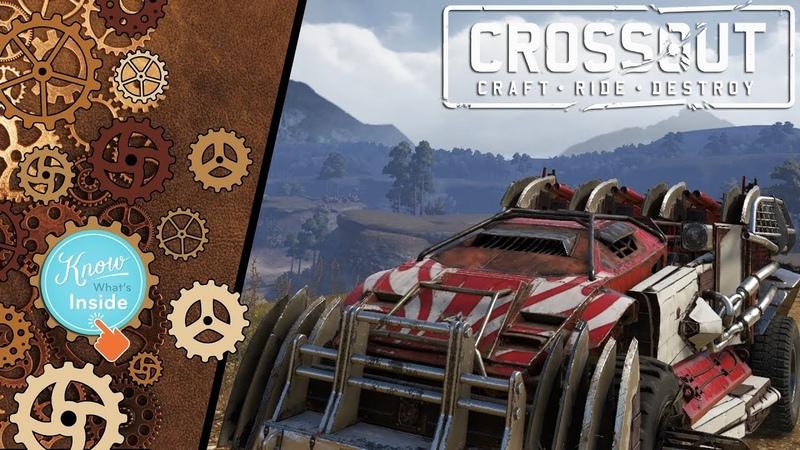 Crossout: Assembling car 109 - BR_cat_v4 [ver. 0.9.135]