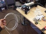 #4 ~Russ's Filament Extruder First Test Run! Wahoo! First Squirt!