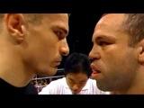 Mirko Crocop vs Wanderlei Silva 1 Best Staredown ever in MMA mirko crocop vs wanderlei silva 1 best staredown ever in mma