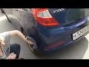 Как я помыла половину машины за 6 мин. рецепт_ 0,5 л воды автомобильное полотенц (1)