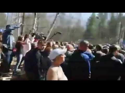 Мусорный бунт. Против жителей в Ликино-Дулево пригнали космонавтов, обещая ломать хребты