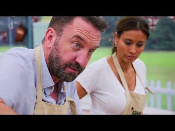 The Great Celebrity Bake Off for SU2C - Episode 4 Lee Mack, Joe Lycett, Griff Jones Melanie Sykes