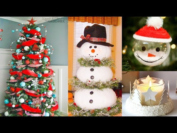 DIY Christmas Decor! Easy Crafts Ideas at Christmas Winter Ideas for Teenagers 2019 16
