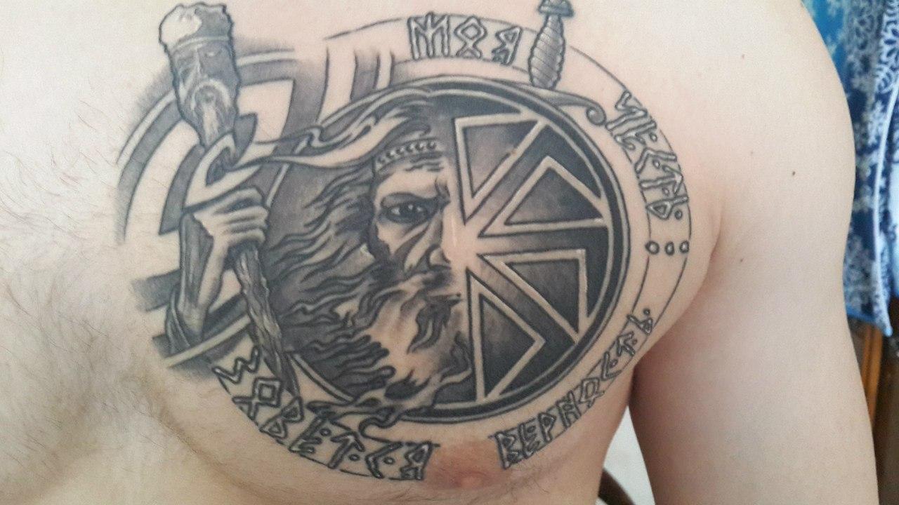 Татуировки славянском стиле фото