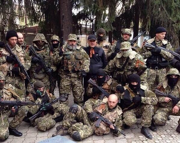"""В Донецке нет России и """"вежливых людей"""". Но там есть Республика, власть народа, свобода и мужество..."""