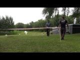 Избиение участников акции охраной Умара Джабраилова