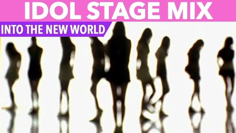 IDOL STAGE MIX SNSD INTO THE NEW WORLD TWICE RED VELVET GFRIEND MORE