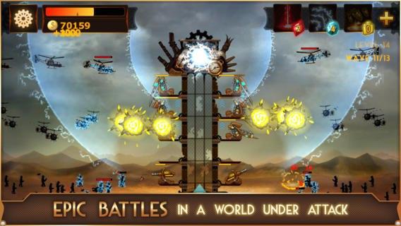Скачать Steampunk Tower для android