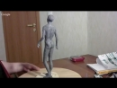 Лепка мужской фигуры из пластилина