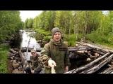 РЫБАЛКА НА РЕКЕ В ТАЁЖНОЙ ГЛУШИ . FISHING ON THE RIVER IN THE TAIGA WILDERNESS