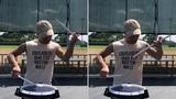 Hand Shake BYOS - Mark Carman Xymox Percussion Snare Drum Pad