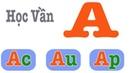 Dạy Bé Các Vần Trong Tiếng Việt - Vần Có Chữ Cái A
