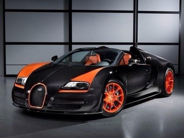 Bugatti Veyron 16.4 Grand Sport Vitesse WRC Объем: 7993 см³ Мощность: 1182 л.с. Крутящий момент: 1500 Нм Привод: полный Максимальная скорость: 409 км/ч