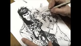 GAMBIT and ROGUE (Savage Land) and Wally West FLASH! Art Stream with Jim Lee