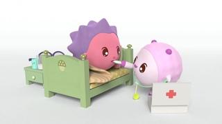 Малышарики - новая серия - Апчхи! (135) Мультики про врачей и докторов